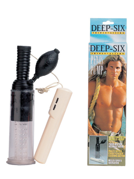 2K16-BX  Deep Six Penis Pump