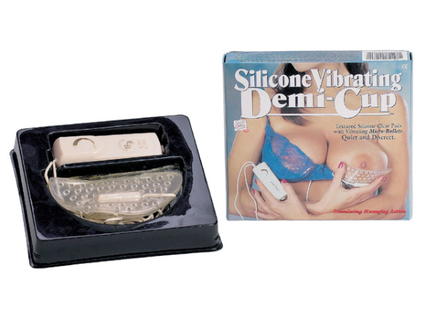 97115-cpbx Silicone Vibrating Demi Cup