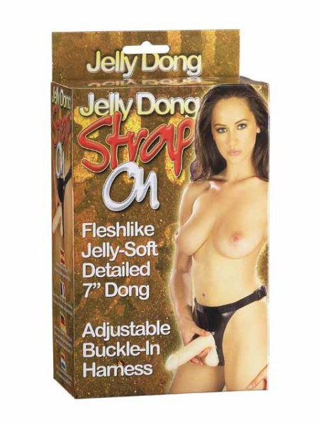 05-143-bx Jelly Dong Strap-on